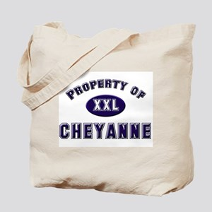 Property of cheyanne Tote Bag