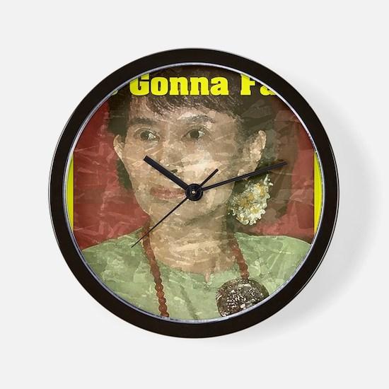 Aung_San_9x12 Wall Clock