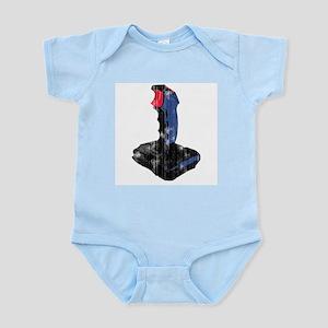 Worn Retro Joystick Infant Bodysuit