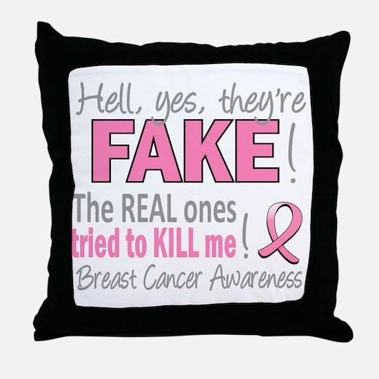 - Fake Throw Pillow