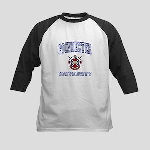 POINDEXTER University Kids Baseball Jersey