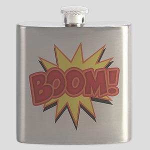 boom-bang-T Flask