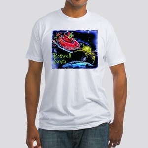 Roswell Santa Fitted T-Shirt