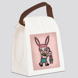 bunny-eviler-TIL Canvas Lunch Bag