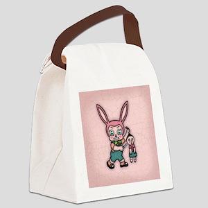 bunny-eviler-BUT Canvas Lunch Bag