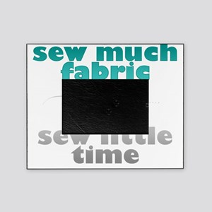 sew much fabric Picture Frame