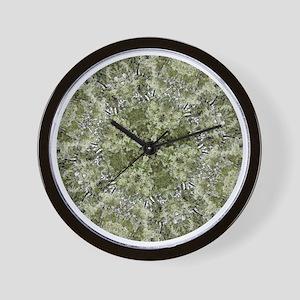 Flowering Tree Mandala Wall Clock