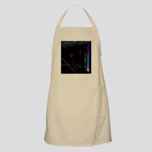 Emissions from an Illuminated BBQ Apron