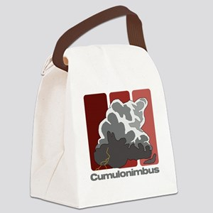 Cumulonimbus Canvas Lunch Bag