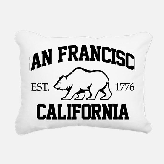 sanfran01 Rectangular Canvas Pillow