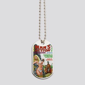 MANS ACTION, June 1969 -  Dog Tags