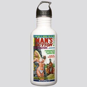 MANS ACTION, June 1969 Stainless Water Bottle 1.0L