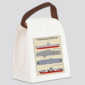 Essex-Hancock-T-shirt Canvas Lunch Bag