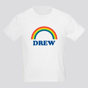 DREW (rainbow) Kids T-Shirt