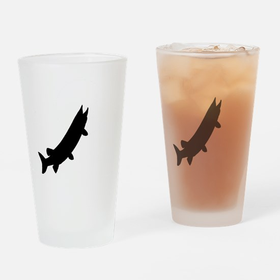 muskieMoon copy Drinking Glass