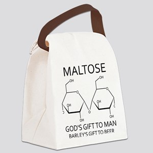 Maltose and Beer Canvas Lunch Bag