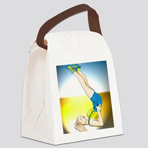 derbygirl Canvas Lunch Bag