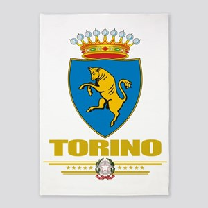 Torinoi (Flag 10) 5'x7'Area Rug