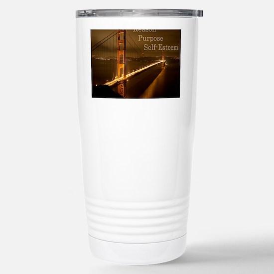rationalvalues1 Stainless Steel Travel Mug
