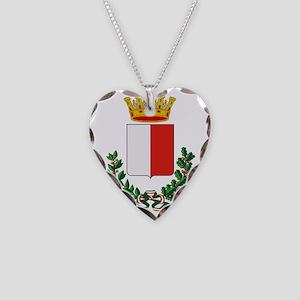 Bari (Flag 10) pocket Necklace Heart Charm