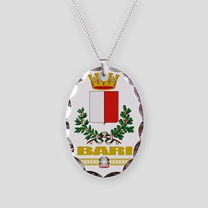 Bari (Flag 10) Necklace Oval Charm