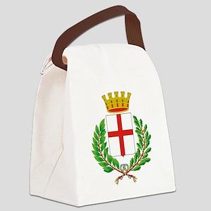 Milano (Flag 10) pocket Canvas Lunch Bag