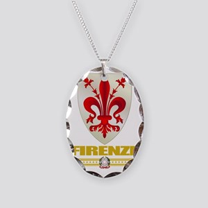 Firenze (Flag 10) Necklace Oval Charm