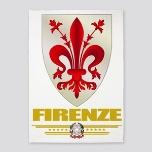 Firenze (Flag 10) 5'x7'Area Rug