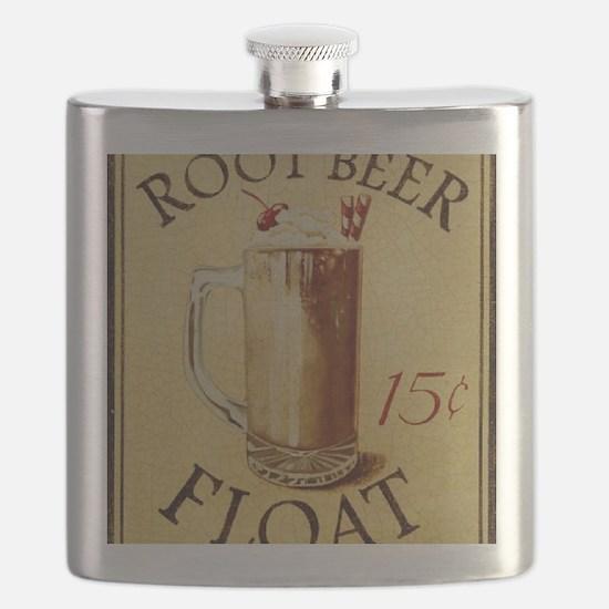 Root Beer Float BIG Flask