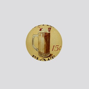 Root Beer Float BIG Mini Button