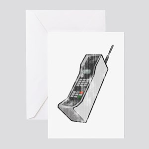 Worn 80's Cellphone Greeting Cards (Pk of 10)