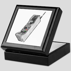 Worn 80's Cellphone Keepsake Box
