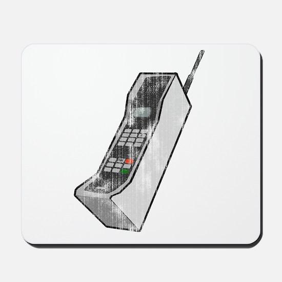 Worn 80's Cellphone Mousepad