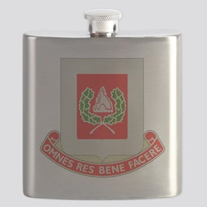 27th Army Engineer Battalion Military Flask