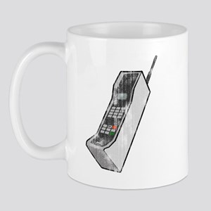 Worn 80's Cellphone Mug