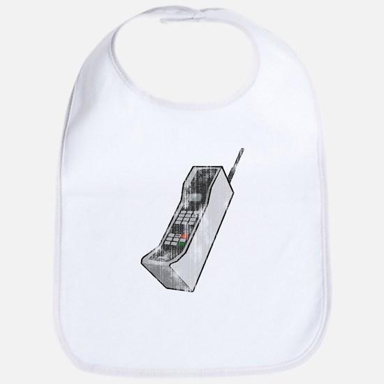 Worn 80's Cellphone Bib