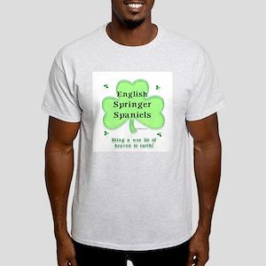 English Springer Heaven Ash Grey T-Shirt