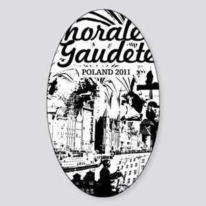 gaudete Sticker (Oval)