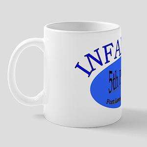 5th Bn 20th INF cap2 Mug