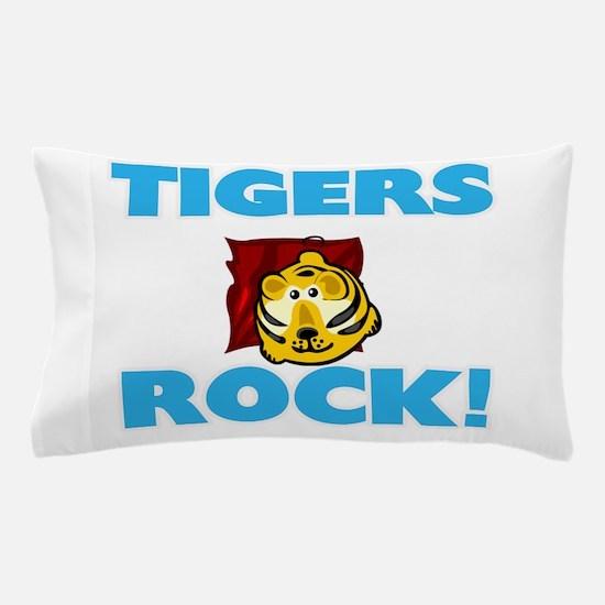 Tigers rock! Pillow Case