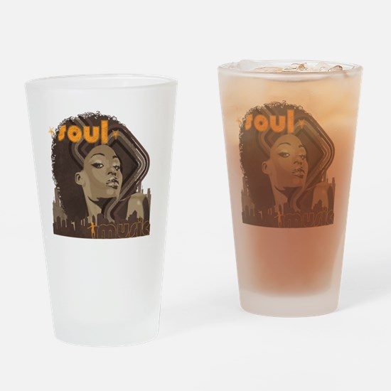Soul Music - Cinder Drinking Glass