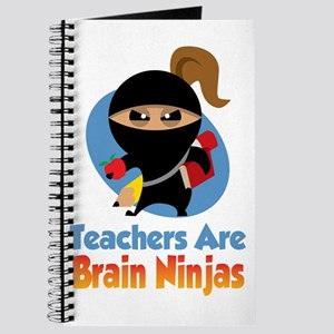Teachers-Are-Brain-Ninjas-blk Journal