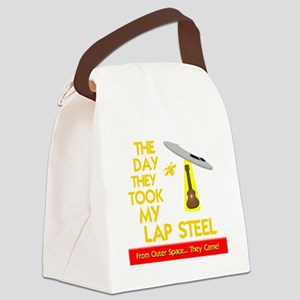 funny lap steel slide guitar Canvas Lunch Bag
