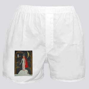 SnowMaidenRedPoster Boxer Shorts
