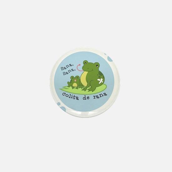 frog_bluebubble_forwhitebg Mini Button