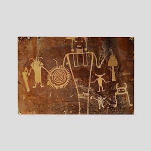 Fremont Rock Art 2x8pt31 Rectangle Magnet