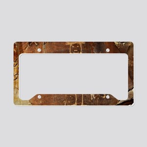Fremont Rock Art 2x8pt31 License Plate Holder