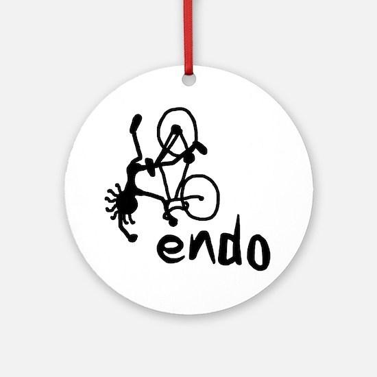 Endo_Stick_guy2 Round Ornament