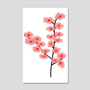cherry_blossom_graphic 20x12 Wall Decal