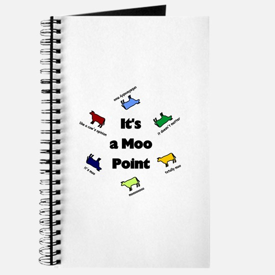 It's a Moo Point Journal